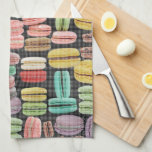 French Macarons Pop Art Towels
