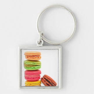 French macaroons key chains