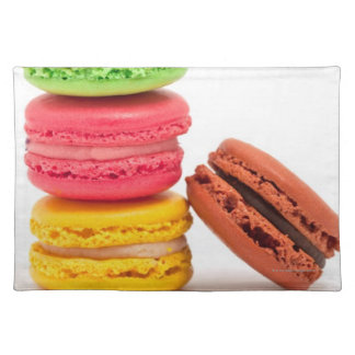 French macaroons placemat
