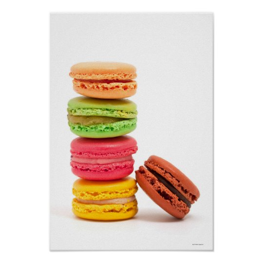 French macaroons poster
