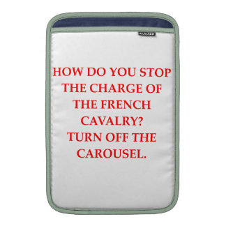 french MacBook sleeves