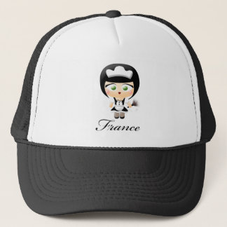 French Maid Trucker Hat