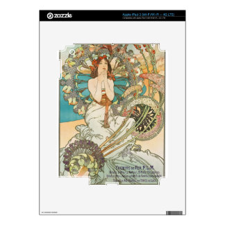 French Maiden in Prayer Skins For iPad 3