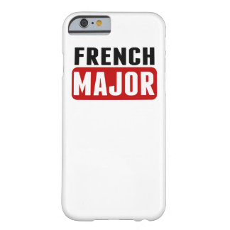 French Major Barely There iPhone 6 Case