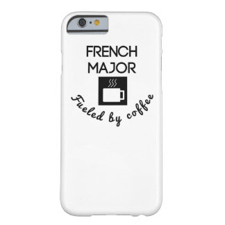 French Major Fueled By Coffee Barely There iPhone 6 Case