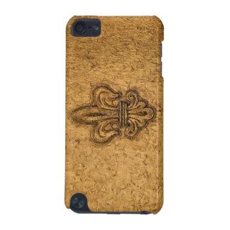 French Mardi Gras Fleur De Lis New Orleans Texture iPod Touch (5th Generation) Case
