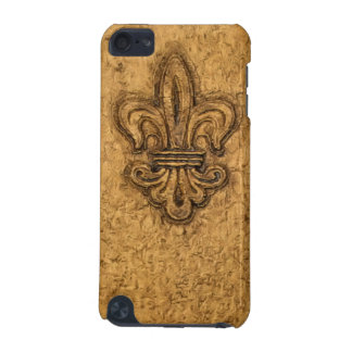 French Mardi Gras Fleur De Lis New Orleans Texture iPod Touch 5G Case