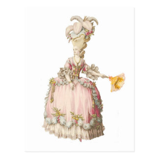 French Marie Antoinette PostCard