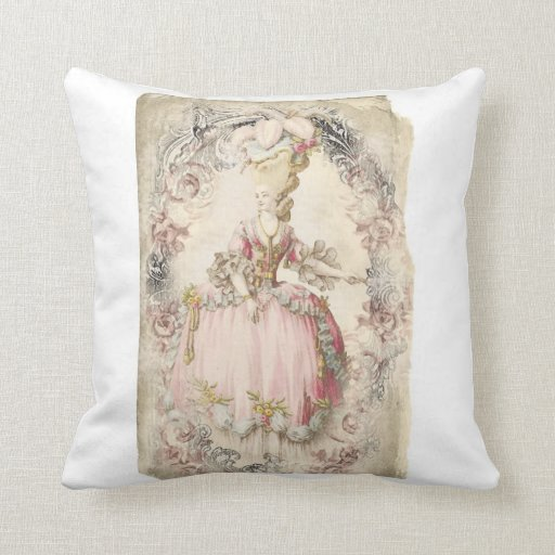 French Marie Pillow