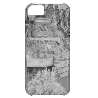 French Market Fruit Stand June 1936 jpg iPhone 5C Covers