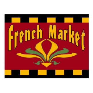 French MArket Postcard