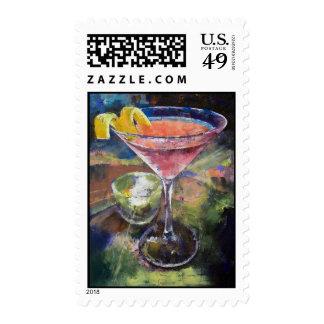 French Martini Stamp