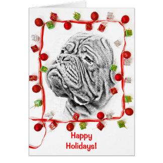 French Mastiff Card