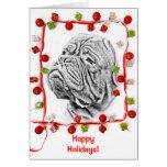 French Mastiff Greeting Card