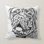 French Mastiff Pillow