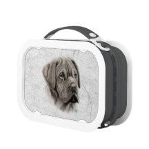 French Mastiff Portrait Yubo Lunch Boxes