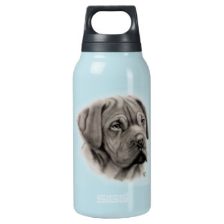 French Mastiff Thermos Water Bottle
