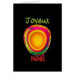 French Merry Christmas - Joyeux Noel Greeting Card