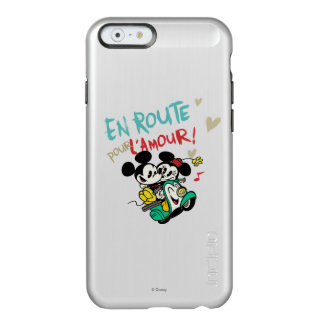 French Mickey | En Route pour L'Amour Incipio Feather Shine iPhone 6 Case