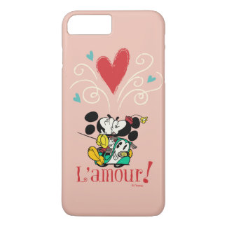 French Mickey | L'amour iPhone 8 Plus/7 Plus Case
