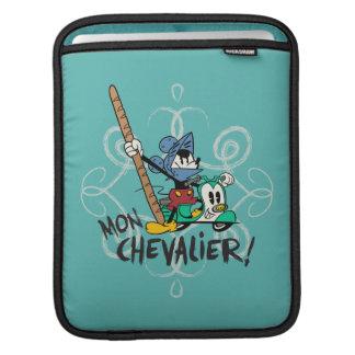 French Mickey | Mon Chevalier! iPad Sleeve