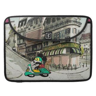 French Mickey | Speeding Vespa MacBook Pro Sleeve