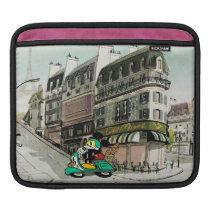French Mickey   Speeding Vespa Sleeve For iPads