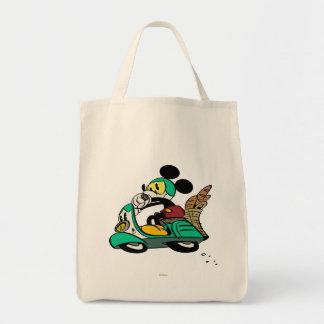 French Mickey | Speeding Vespa Tote Bag