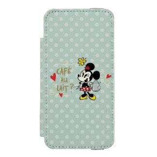 French Minnie   Café au Lait? iPhone SE/5/5s Wallet Case