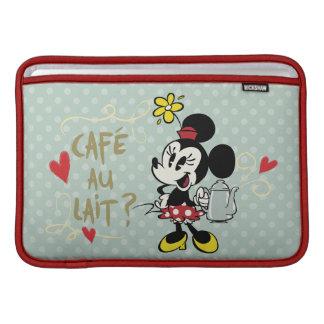 French Minnie   Café au Lait? MacBook Sleeve