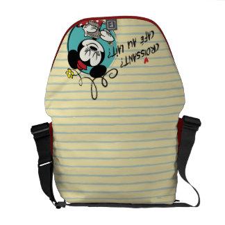 French Minnie | Croissant Messenger Bag
