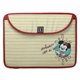 French Minnie | Croissant Sleeve For MacBook Pro