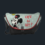 "French Minnie | Minnie with Teapot Courier Bag<br><div class=""desc"">Mickey Shorts: Croissant de Triomphe</div>"