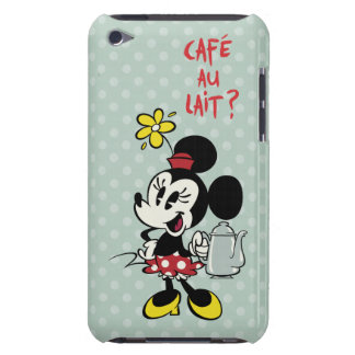 French Minnie   Minnie with Teapot iPod Touch Cover