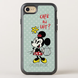 French Minnie   Minnie with Teapot OtterBox Symmetry iPhone 7 Case