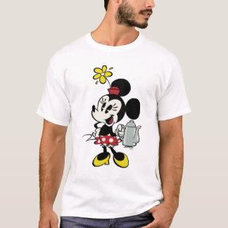 French Minnie   Minnie with Teapot T-Shirt