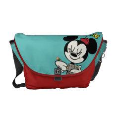 French Minnie | Waitress Messenger Bag at Zazzle
