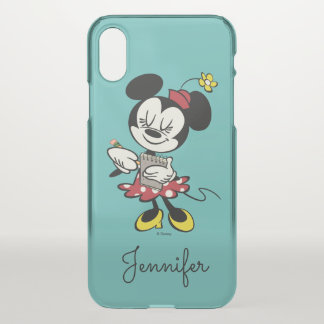 French Minnie | Waitress | Your Name iPhone X Case