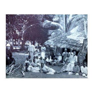 French Mission in Bagamoyo, Tanzania, ca. 1902 Postcard
