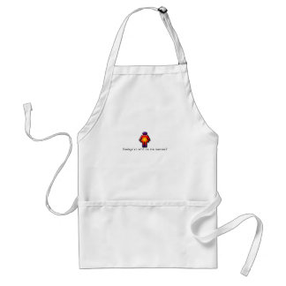 French-Mommy Adult Apron