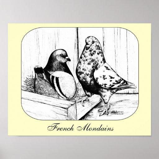 French Mondains 1981 Poster