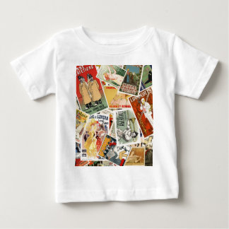 french montage 2 baby T-Shirt