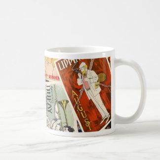 french montage 2 coffee mug