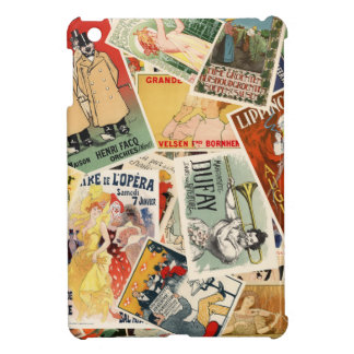 french montage 2 iPad mini cover