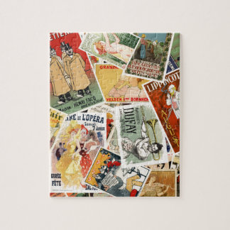 french montage 2 jigsaw puzzle