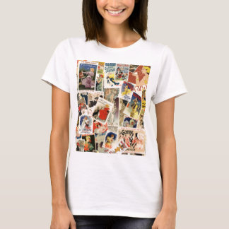 French Montage design 2 T-Shirt