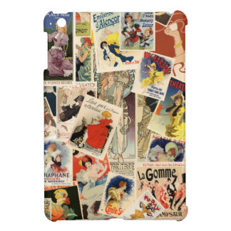 French Montage iPad Mini Cover