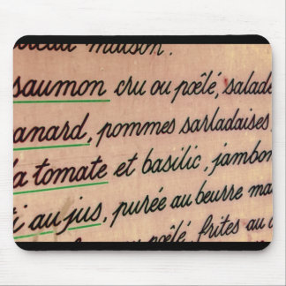 French Mouse Pad