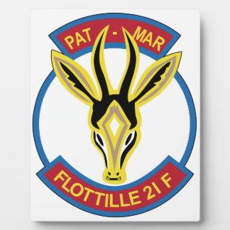 French Naval Aviation Aeronavale Patch 21 F Flotil Plaques