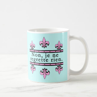 French No Regrets Products Coffee Mug